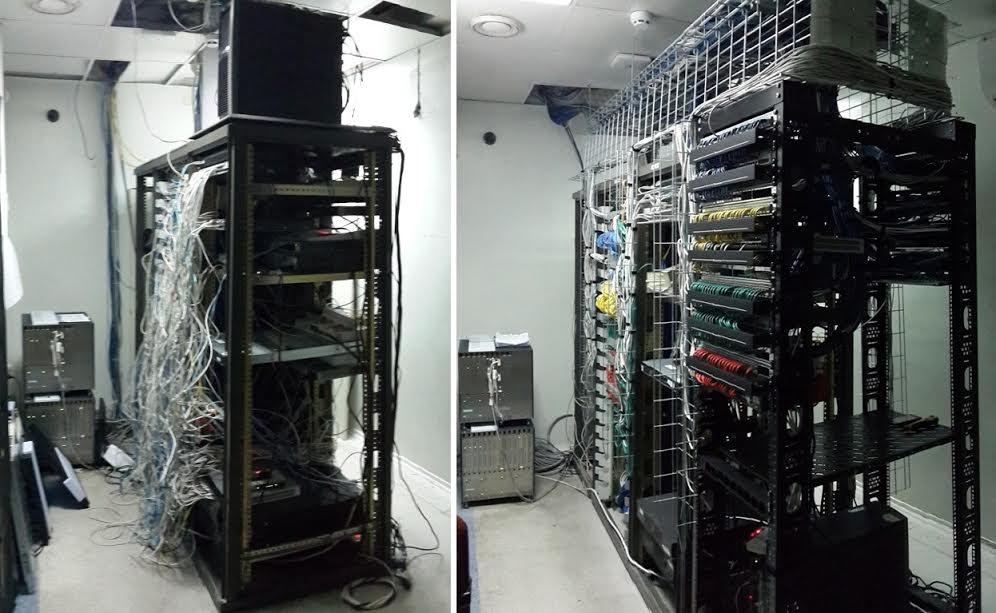 Переукладка серверных комнат Киев